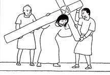 Křížová cesta a kříže