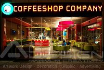 COFFEESHOP COMPANY in Arkan Mall / These designs have been implemented by Art Design Company