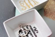 Monogrammed things / by Tiffany Owens