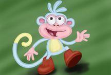 Dora the Explorer - Characters
