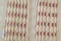 bufandas y punto