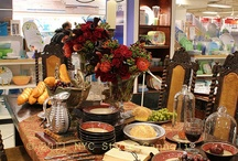Tablescapes  / various table settings