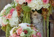inspiration: soft hued florals