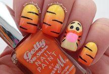 Nails - orange / My orange collection (or mostly orange)