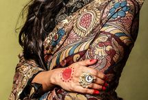 Amazing bright Kalamkari designed