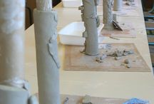 community project / Clay totem pole ideas for the wetlands community project