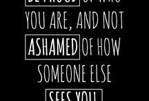 Reminder / Positives vibes
