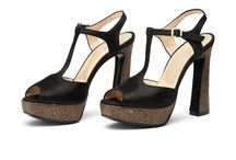 High heel leather sandal - Norma Classic