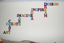 Craft room ideas / by Omayra Velez-fredeman