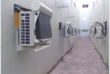 Hybrid air conditioners.