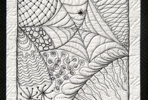 Zentangle and Graffiti Quilting