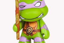 Kidrobot x Teenage Mutant Ninja Turtles