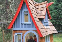 The Dragon / A luxury children's playhouse, designed and built by Magical Playhouses. www.magicalplayhouses.com