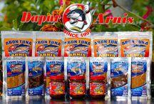 Abon Tuna Arnis / Abon Tuna is a Manado special culinary, made from fresh tuna fish.