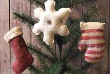 Christmas decorations. . primitive