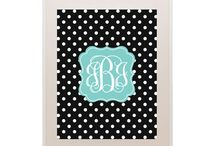 Monogram Maker / Monogram Maker - Make your own monogram with this free monogram maker from Chicfetti! It's easy to use - just download the monogram you want to make, edit the monogram and print! / by For Chic Sake