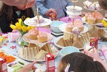 Children's Parties / We can take the stress out of your children's birthday party by proving both the entertainment and the food!