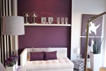 Living Room - Purple Accents