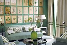 Living room walls and wall decor / Paint & wall decor