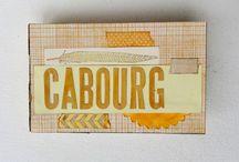 album  Cabourg / album en scrap