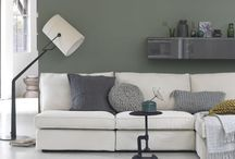 HOME | GREEN / Green walls or green furniture