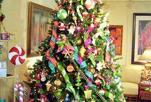 girly christmas trees