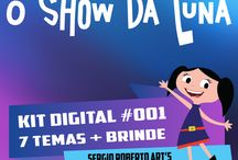 O Show da Luna - Scrapbook Digital / O Show da Luna - Scrapbook Digital