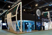 Stands de comunicación / Proyectos realizados por COOC Alternativa de Diseño en 2008 para Crambo y Redislogar