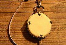 Maßband in Lederhülle / Ein nützliches Accessoire. Nicht nur für Schneider
