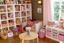 Diseño de habitación para niñas