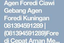 Agen Foredi Ciawigebang