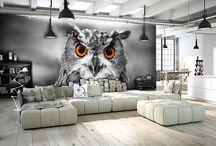 Fototapety we wnętrzach/Wallpapers