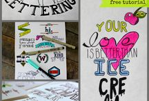 Learn to... Hand Lettering / by Kari Rugg