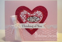 Cards - Valentine's Day / Handmade cards for Valentine's Day