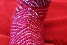 ponožky, rukavice