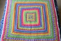 Crochet Blankets, Throws & Pillows