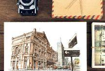 Buenos Aires Postcards / Miradas urbanas sobre las ciudades que habitamos, nuevas forma de ver sus cielos y calles