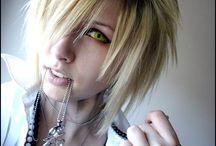K.rah hair - make up and chlotes