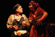 Teatro Os quinquillans / Fotos de actaciones de la compañía os quinquillans