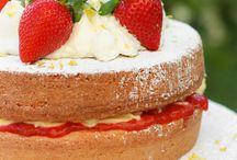 Victoria sandwich cake / Read related post at http://www.aheadfullofpin.com/2016/02/per-la-mamma-un-dolce-compleanno.html