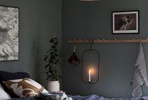 Färg sovrummet
