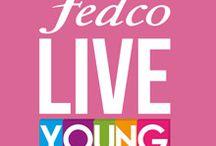 Live Young - Rosa / Una LIVE YOUNG nunca deja de ser romántica, El rosa representa el amor, romance, amistad y cariño.