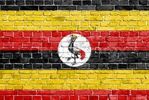 Uganda Flag / Uganda Flag Uganda Maps http://ugandansafaristours.com/about-uganda-facts-map-tourism.html