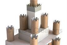 Cardboard Roll Craft / Inspiring ideas all made from cardboard tubes