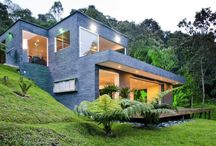 hillside house project