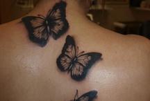 Tattoo / Vlinders