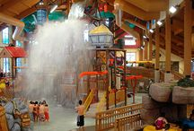 Wilderness Indoor Waterparks / Wilderness Territory in Wisconsin Dells has four indoor waterparks totalling over 250,000 sq. ft. of water fun that can be enjoyed all year long! / by Wilderness Resort