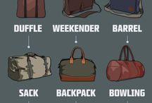 bag for men's