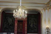 Restauration de lustres au château Chambord