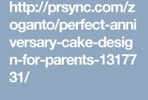 Anniversary Cakes for Parents Online from Zoganto